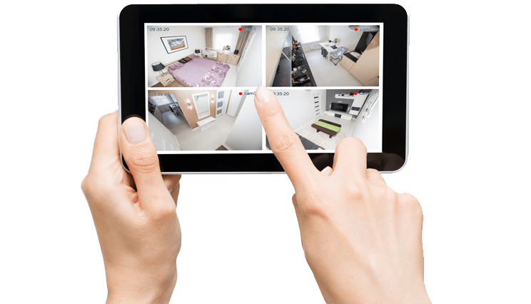 Remotely access your security camera system over the internet