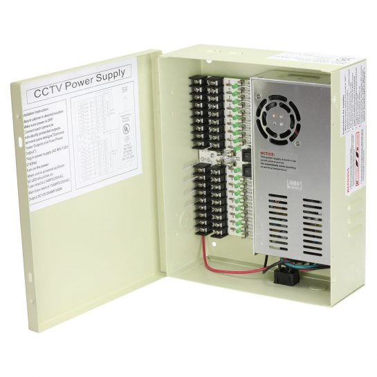 Orange Security Cameras Power Supplies