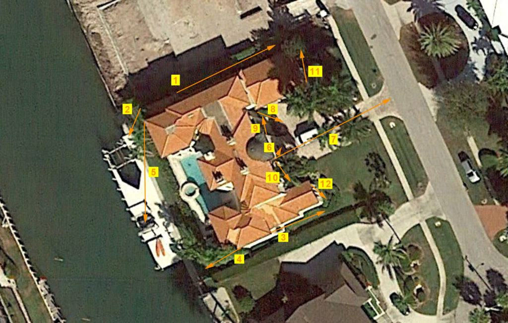 Large Home Sample System Aerial View