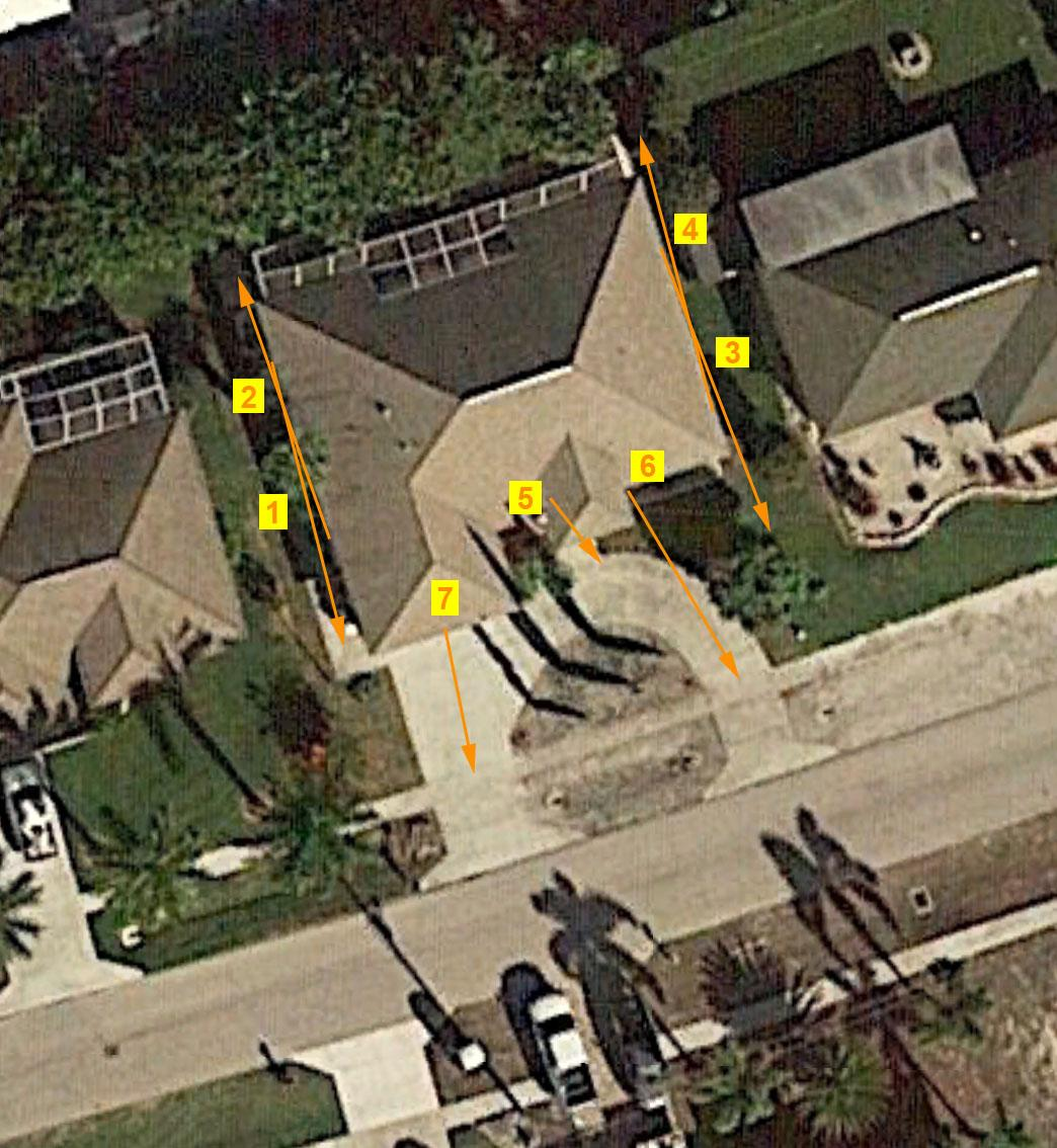 Medium Home Sample System Aerial View
