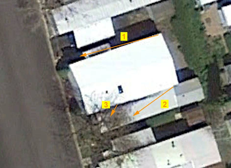 Small Home Sample System Aerial View
