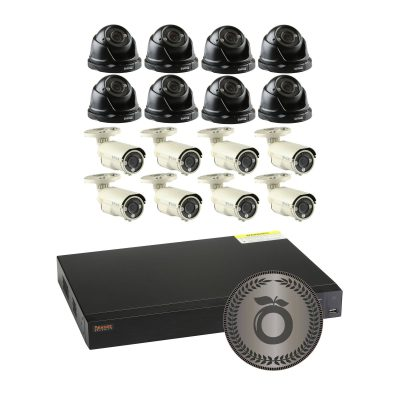 Orange Security Cameras