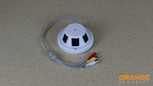 Covert Smoke Detector Camera with 3.7mm Lens Video