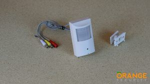 Covert PIR Camera with 3.7mm Lens Video