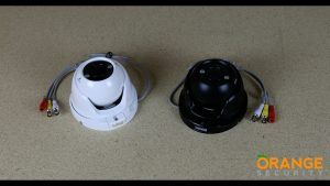 Open Dome Turret Camera with 2.8-12mm Varifocal Zoom Lens Video