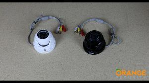 Open Dome Turret Camera with Fixed 3.6mm or 8mm Lens Video
