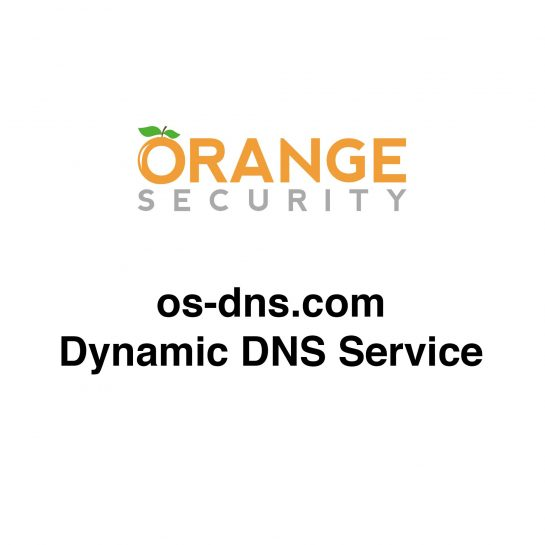 Orange Security os-dns.com Dynamic DNS Service
