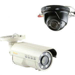 Bullet Cameras vs Open Dome Turret Cameras