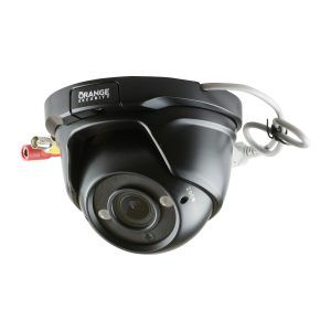 Open Dome Turret Camera with Varifocal Zoom Lens